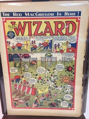 THE WIZARD Comic (1950) - No 1264 - Date 6th May - UK Paper Comic