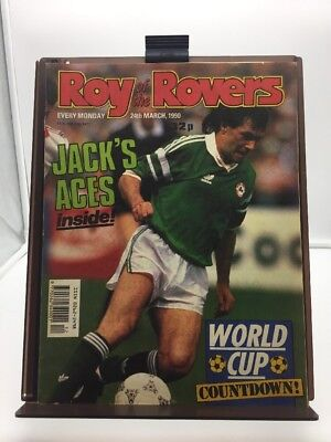 Roy of the Rovers Comic 24th March 1990