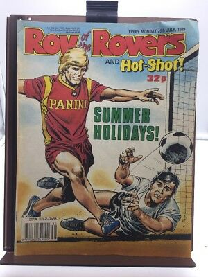 Roy of the Rovers Comic 29th July 1989