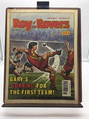 Roy of the Rovers Comic 10th March 1990