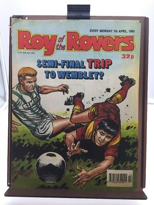 Roy of the Rovers Comic 7th April 1990