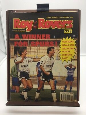 Roy of the Rovers Comic 14th October 1989