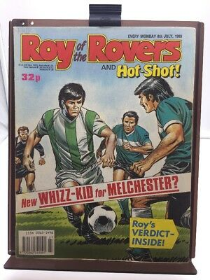 Roy of the Rovers Comic 8th July 1989