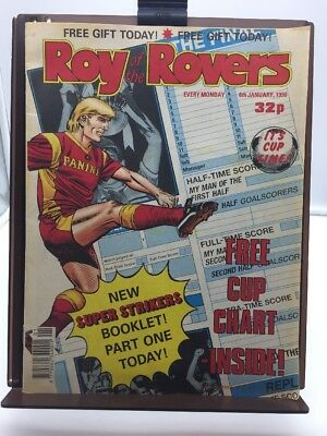 Roy of the Rovers Comic 6th January 1990