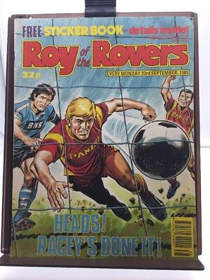 Roy of the Rovers Comic 23rd September 1989