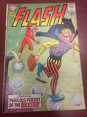 THE FLASH #142 (DC, 1964) Trickster appearance. SILVER AGE!!