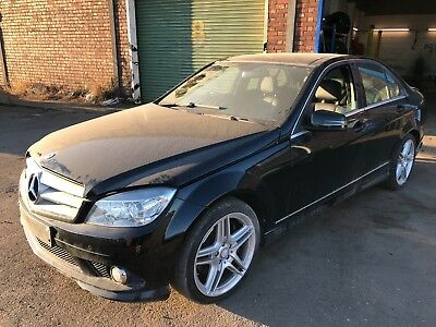 2009 mercedes c320 cdi amg sport w204  x4 wheel nuts, breaking full car,  black