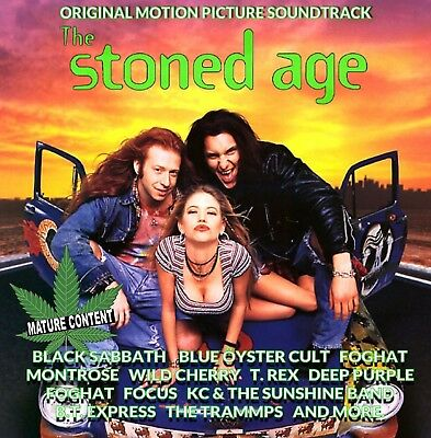 The Stoned Age Original Motion Picture Soundtrack - Rare- CD + DVD 28 tracks!!!