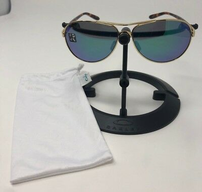 de651cc242 Oakley Feedback Sunglasses Polished w  Gold Jade Iridium Polarized OO4079-20