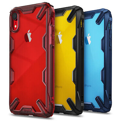 For iPhone XR XS Max XS Ringke [Fusion-X] Hybrid Clear Shockproof TPU Case Cover