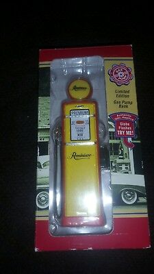 RED CROWN GAS PUMP BANK-LIMITED EDITION - AUTHENTIC 1950s REPLICA