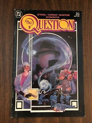 The Question 1 (DC, 1987) key issue vol. 1