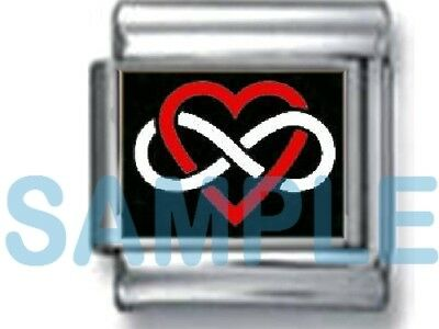 Love You To Th Moon Back 9mm Italian Photo Charm Link Forever