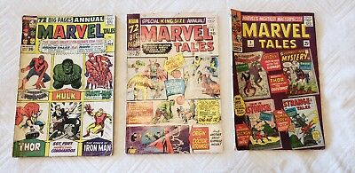 Marvel Tales 1-3 Silver Age (1964-1966)