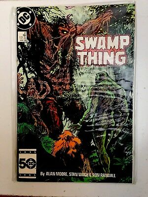 """""""swamp Thing"""" #47)-April 1986, Dc)- """"mint"""" Sealed In Plastic Cover"""