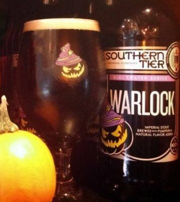 Southern Tier Brewing Company 13 oz. Warlock Goblet. Used.