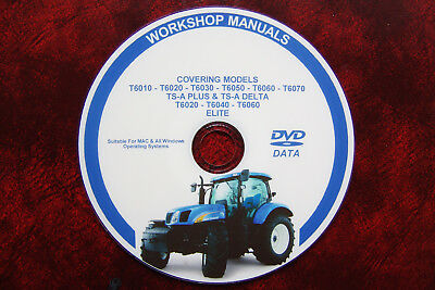 NEW HOLLAND TSA T6010 T6020 T6030 T6040 T6050 T6060 T6070 Workshop Repair Manual