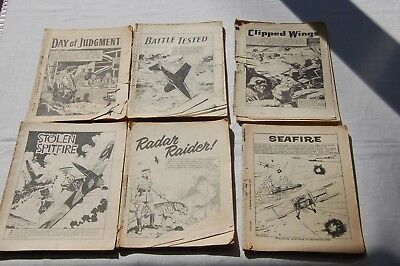 6 x Very Early Commando & War Picture Library Comics 1963-1966