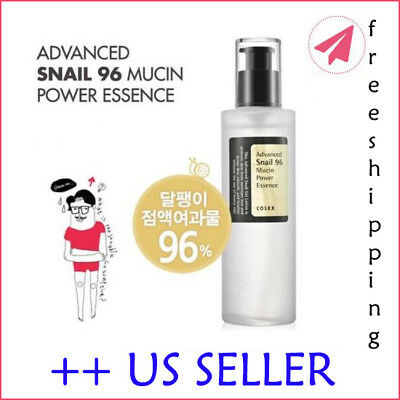 COSRX Advanced Snail 96 Mucin Power Essence 100ml - US SELLER