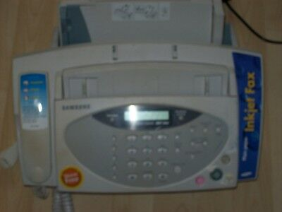 Samsung SF 3100  Plain Paper Facsimile Machine with Telephone ,Copier,Used, Vgc