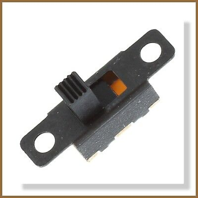Miniature On/Off/On 3-Pin Slide Switch SPDT (5pcs)