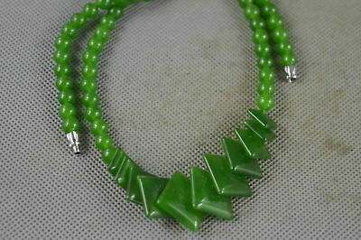 Collection Chinese Style Jade Carve Fashion Bead Bring Happiness Necklace Gift