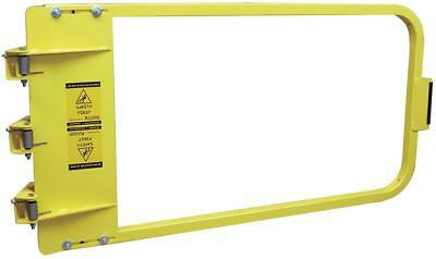 PS DOORS LSG-48-PCY Safety Gate, 46-3/4 to 50-1/2 In, Steel