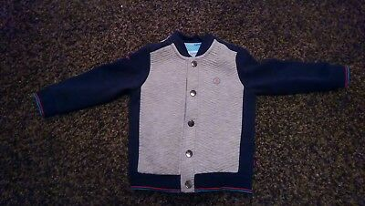 94accf565 BABY BOYS TED Baker Navy Jacket 12-18 Months. Cute   Trendy. - £4.00 ...