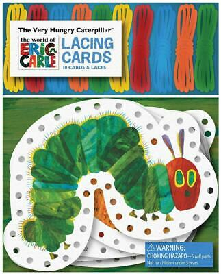 The Very Hungry Caterpillar Lacing Cards [With 10 Laces] by Eric Carle (English)
