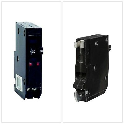 Tandem Circuit Breaker QO 2-20 Amp Single Pole Electrical Power Distribution New