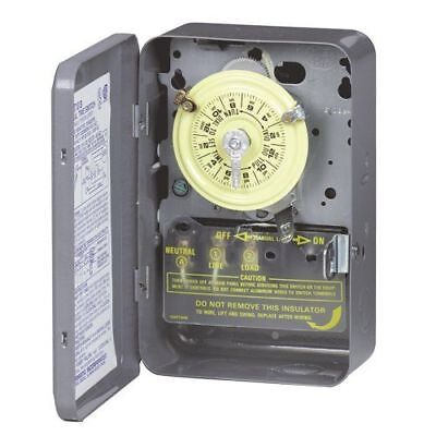 INTERMATIC - T103 40A N1 DPST 24 Hour Mechanical Time Switch missing hardware