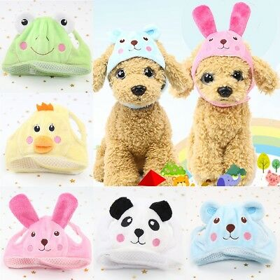 Pet Cat Dog Cap Hat Cap For Puppy Teddy Shapeshift Cute Small Animals Costume