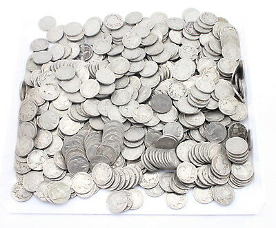 Lot Of **500** U.s. Buffalo Nickels With Full Dates No Reserve #2677
