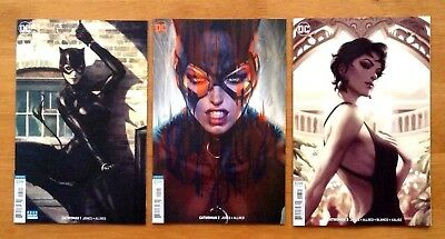 Catwoman 1,2,3 Cover B Variants Stanley Artgerm Lau Covers 1st Prints DC 2018 NM