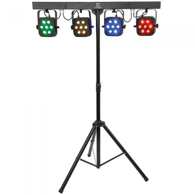 Storm Fourbar Led 4 Bar With Case & Pedal & Stand *new Product*