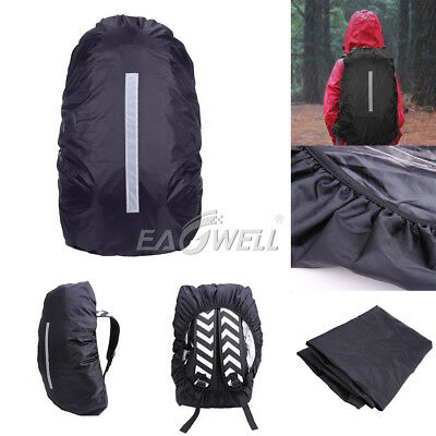 Waterproof Dust Rain Cover For 10L-30L Backpack Rucksack Bag W/ Reflective Band