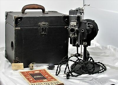 Vintage Bell & Howell Company Filmo Automatic Cine Projector 16 mm w Case |11455
