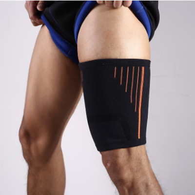 1Pcs Thigh Sleeve Brace Support Compression Leg Wrap Hamstring Wrap Groin New QP