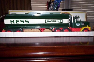 1984 Hess Truck With Rare Black Switch, Not Red, Like Most, Box And All Inserts