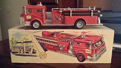 1970 Hess Fire Truck With Box, And Inserts