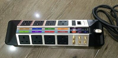Monster HTS 950 Home Theater PowerCenter 8 Outlet Power Stage 1 Surge Socket