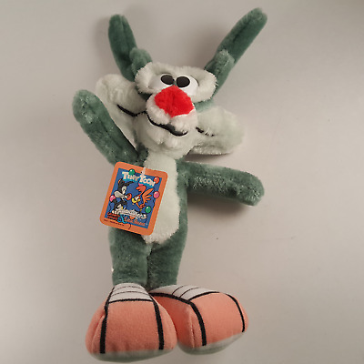 Vintage Tiny Toons Calamity Coyote Plush Toy NEW w/ Tag by ACE Novelty 1990