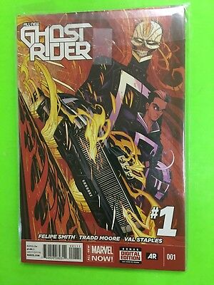 All-New Ghost Rider #1 (Marvel Comics 2015) 1st App Robbie Reyes!