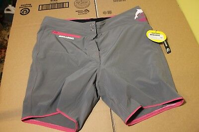 BRP Sea-Doo Ladies' Technical Riding Boardshorts (Charcoal Grey, ) Size 32