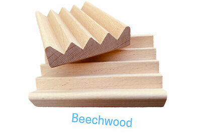Handcrafted from natural wood made in USA 60 Natural Poplar Wood Soap Dishes