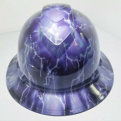 a143aa1767d FULL BRIM HARD Hat custom hydro dipped