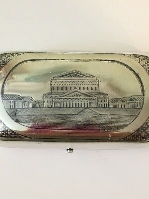 Vintage 🇷🇺 Russian Sterling Silver Cigarette Case-Very Very Rare 🌹❤️