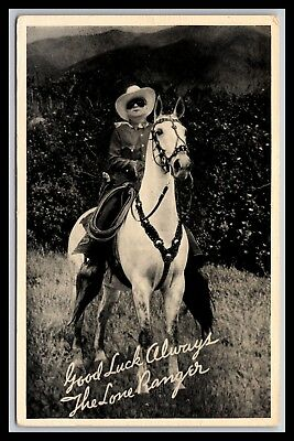 MICHIGAN RADIO STATIONS LONE RANGER ADVERTISING PHOTO 3.5x5.5, SILVERCUP BREAD