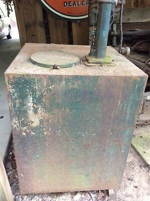 VINTAGE KEROSENE TANK AND PUMP Lubester