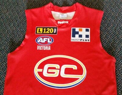 AFL VFL 2009 - 2011 Inaugural GOLD COAST Suns Jersey Guernsey ADULT Large As New
